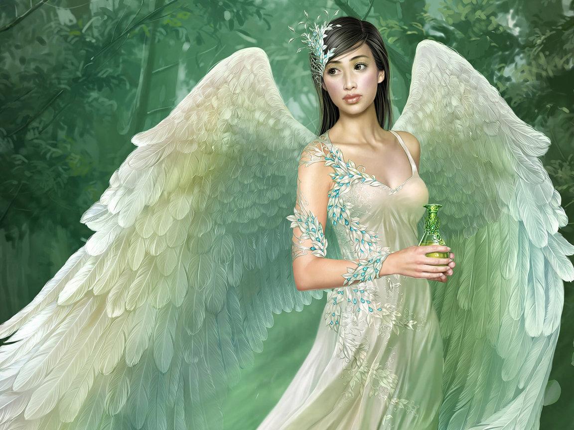 обои ангелы: