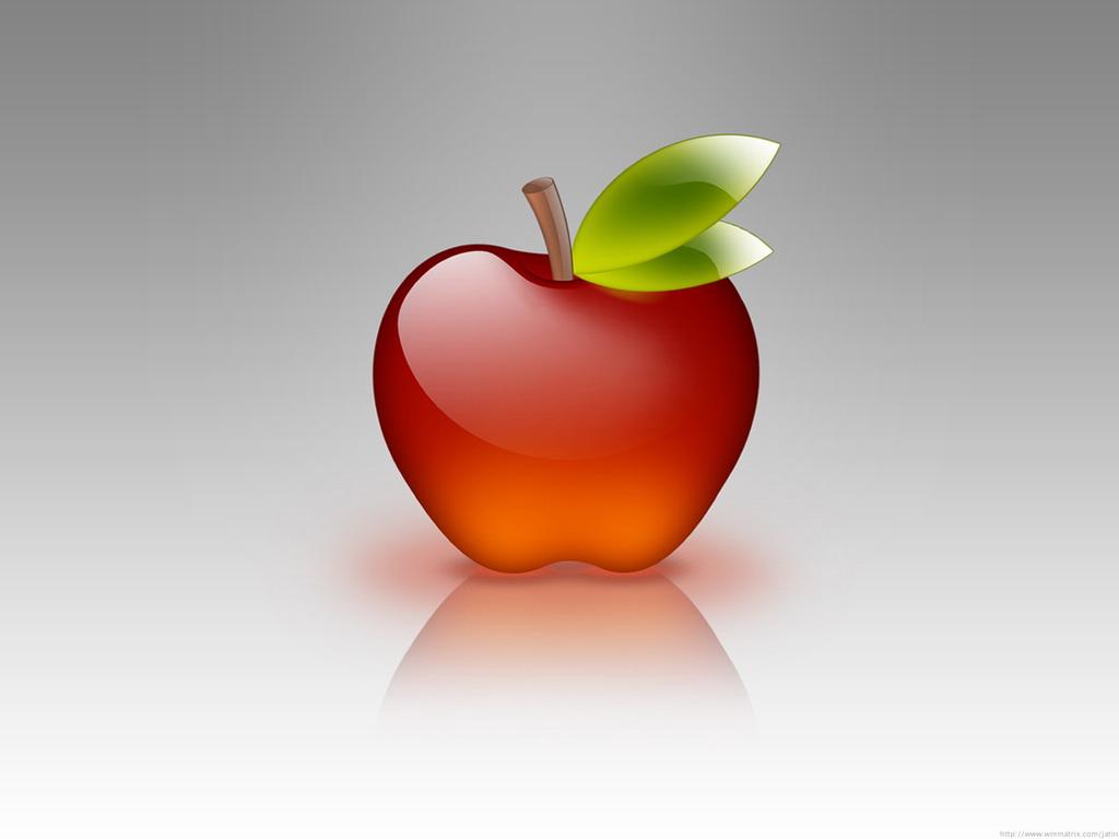 Яблоко iphone обои