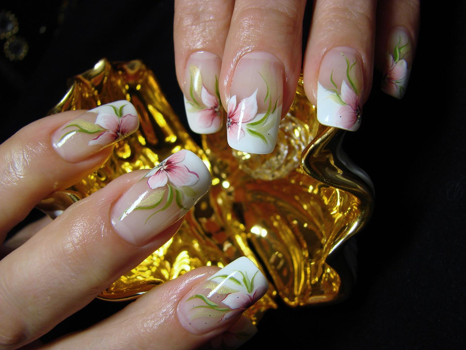 Роспись ногтей домашнее фото 3