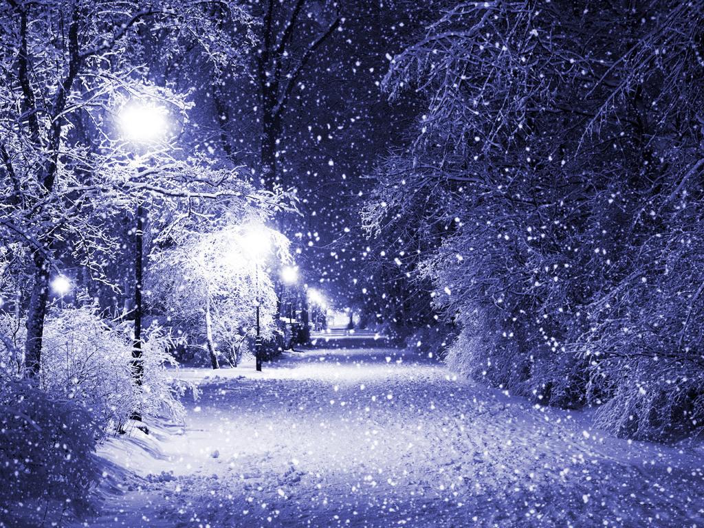 Зима обои на рабочий стол 1024x768 №747612