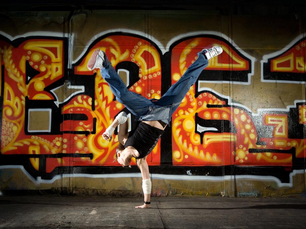 Уличные танцы 1024 x 768