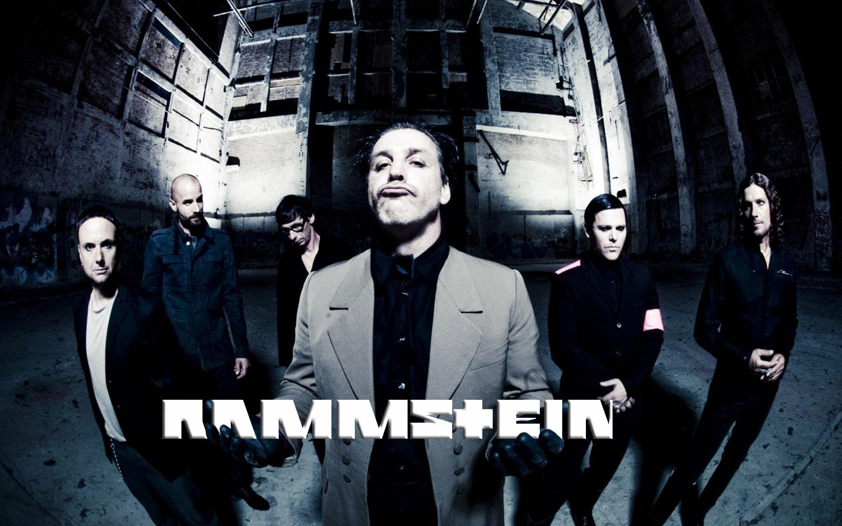 Rammstein - обои на рабочий стол 1680x1050