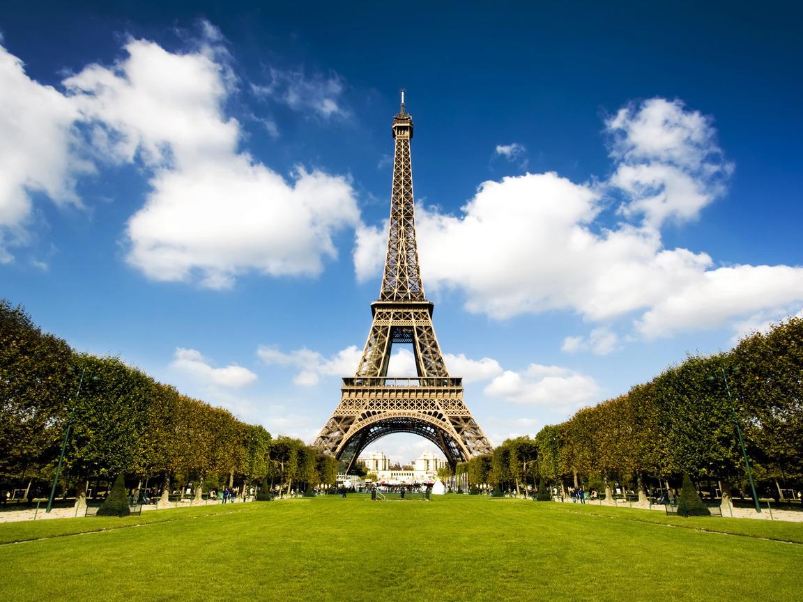 Париж обои на рабочий стол 1152 864