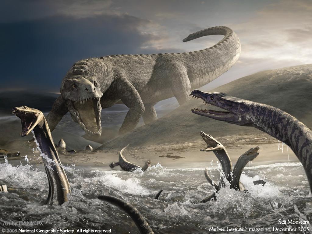 динозавров на рабочий стол