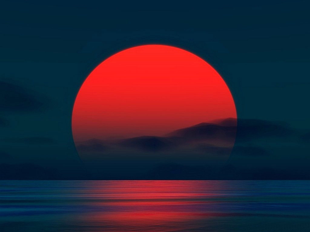 Море и закат фото