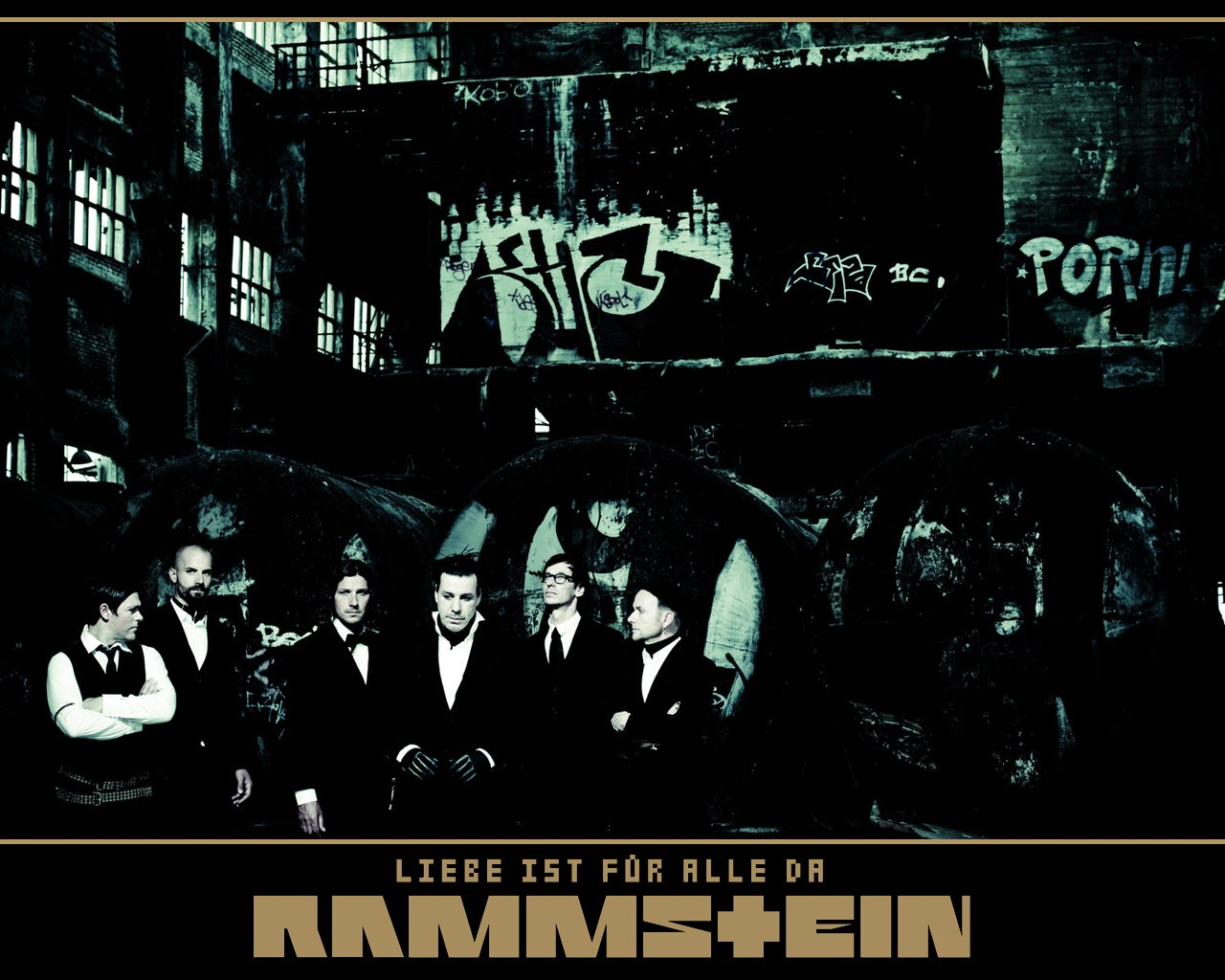 Rammstein - обои на рабочий стол 1280x1024