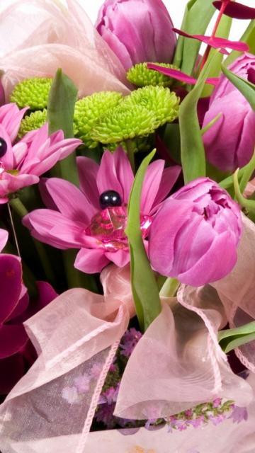 картинки на телефон букеты цветов № 225668 бесплатно