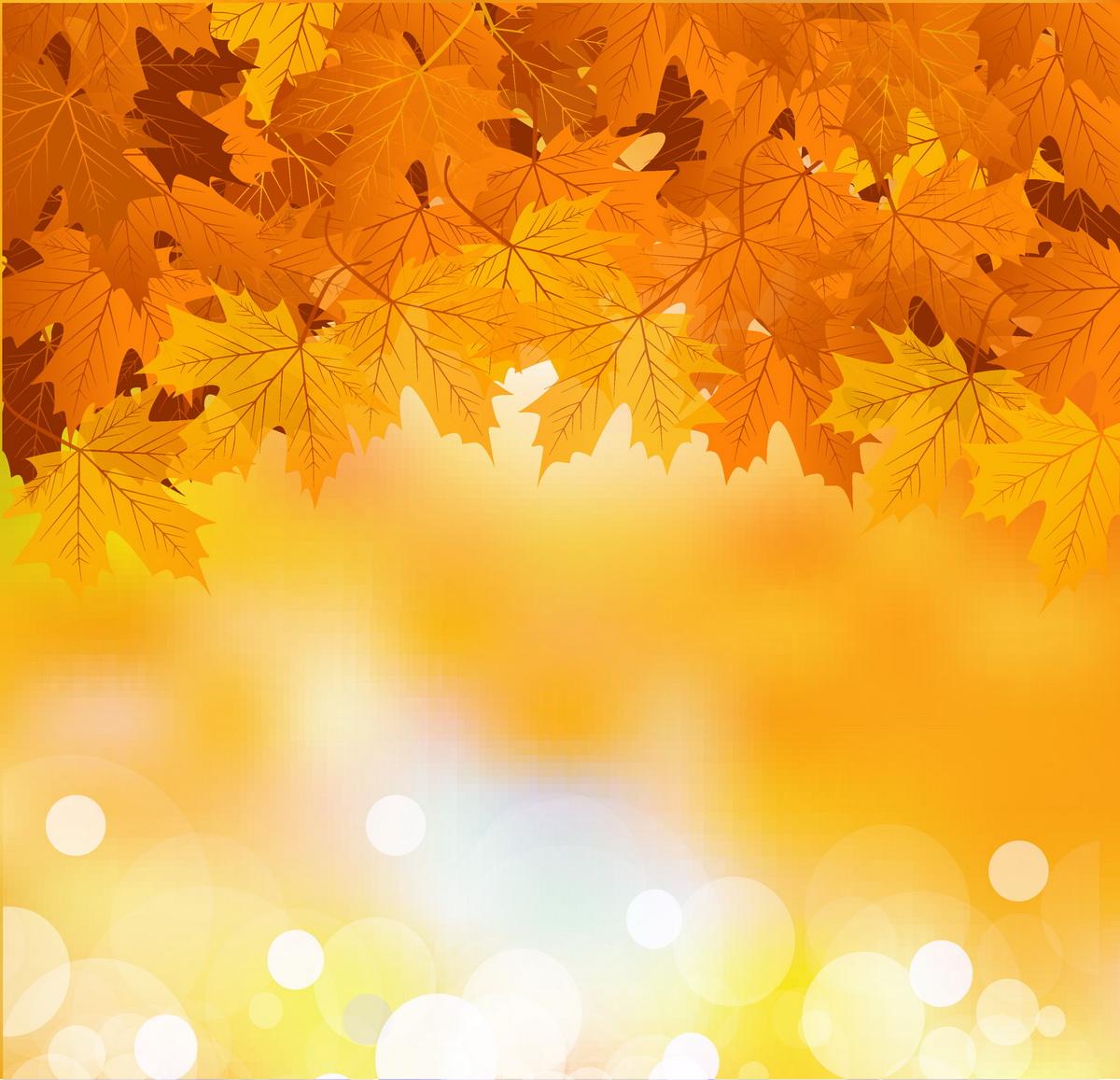 Фоновые картинки с осенью зимой