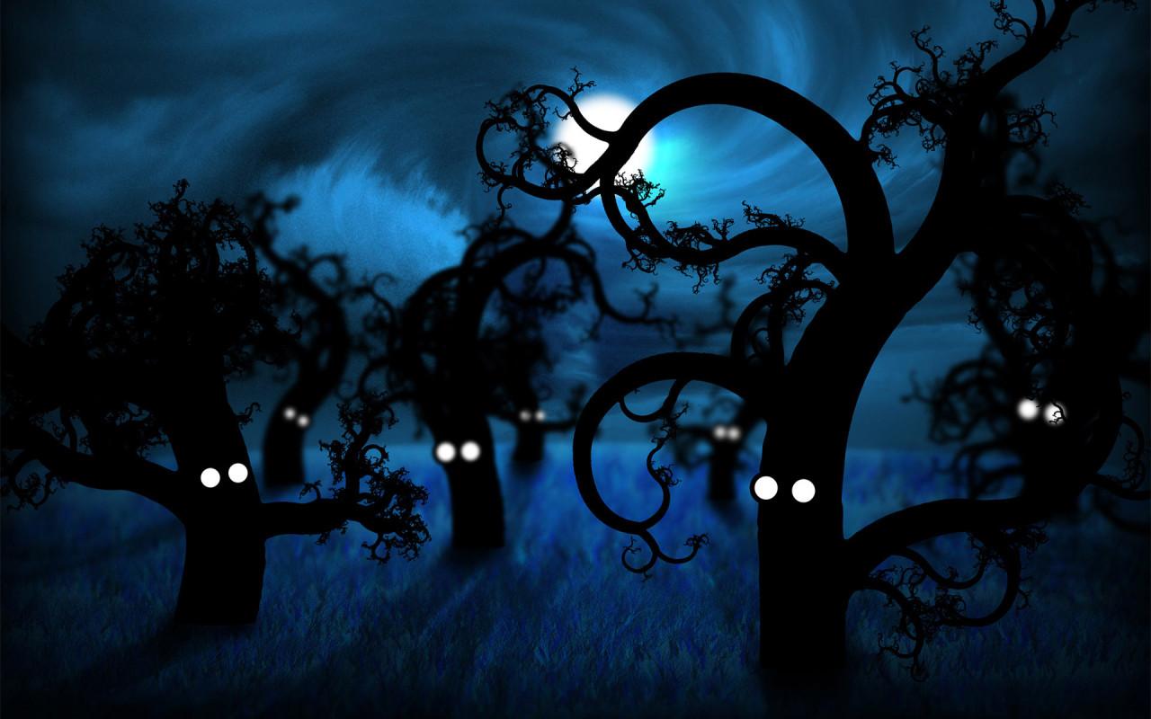 ночь рисунок: