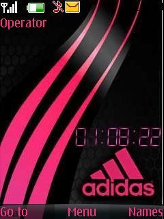 Adidas pink  Lola