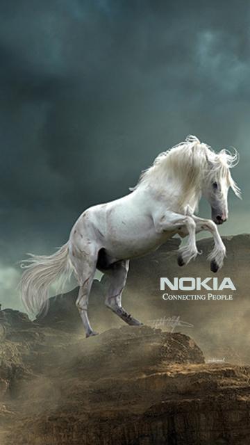 фото лошадей на заставку телефона № 20691 загрузить