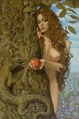 """Размеры: 133 x 190 крестов. таблица цветов. margoritag.  Автор схемы  """"Ева """". схема.  0. оригинал.  Картинки."""
