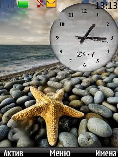 Звезда+часы
