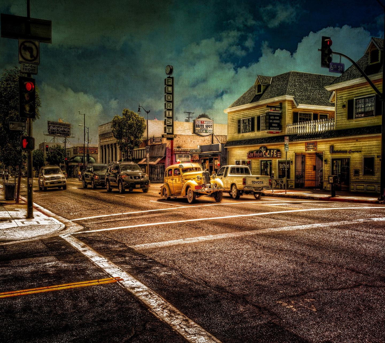 фотообои старый город: