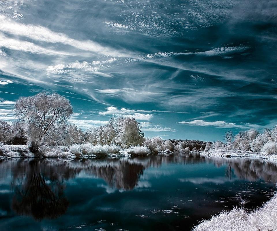 Природа зима 960 x 800