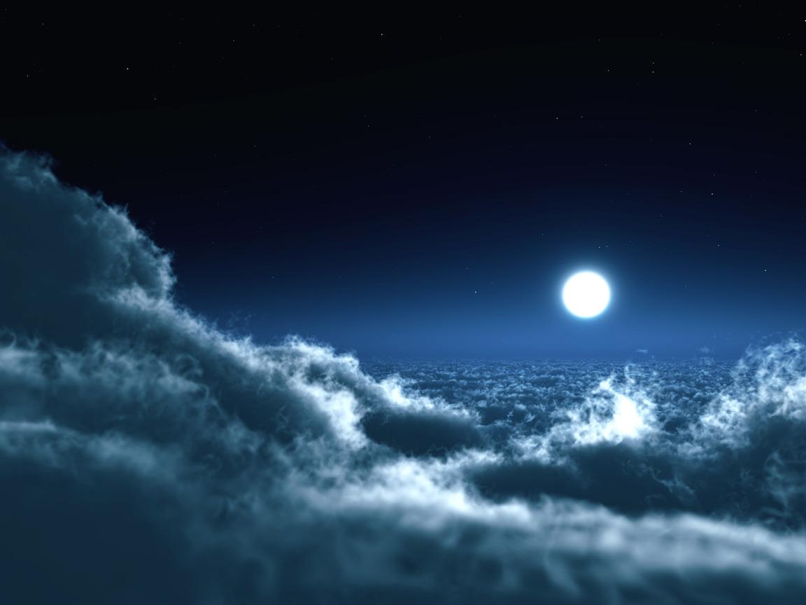картинки для рабочего стола луна: