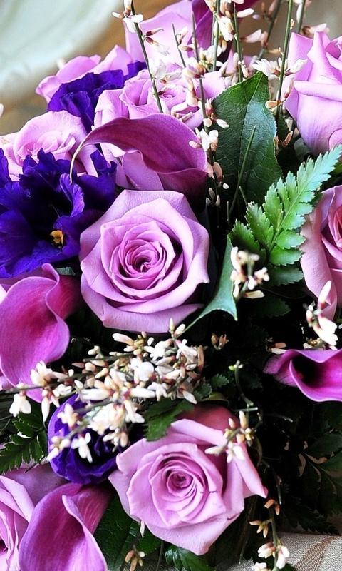 картинки на телефон букеты цветов № 225674 бесплатно