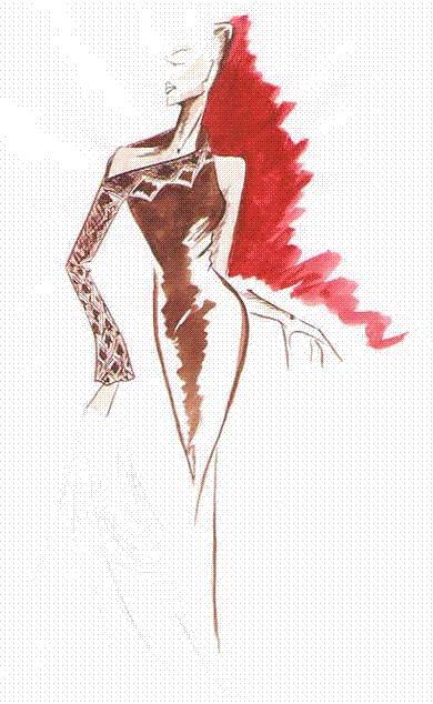 самые необычные вечерние платья