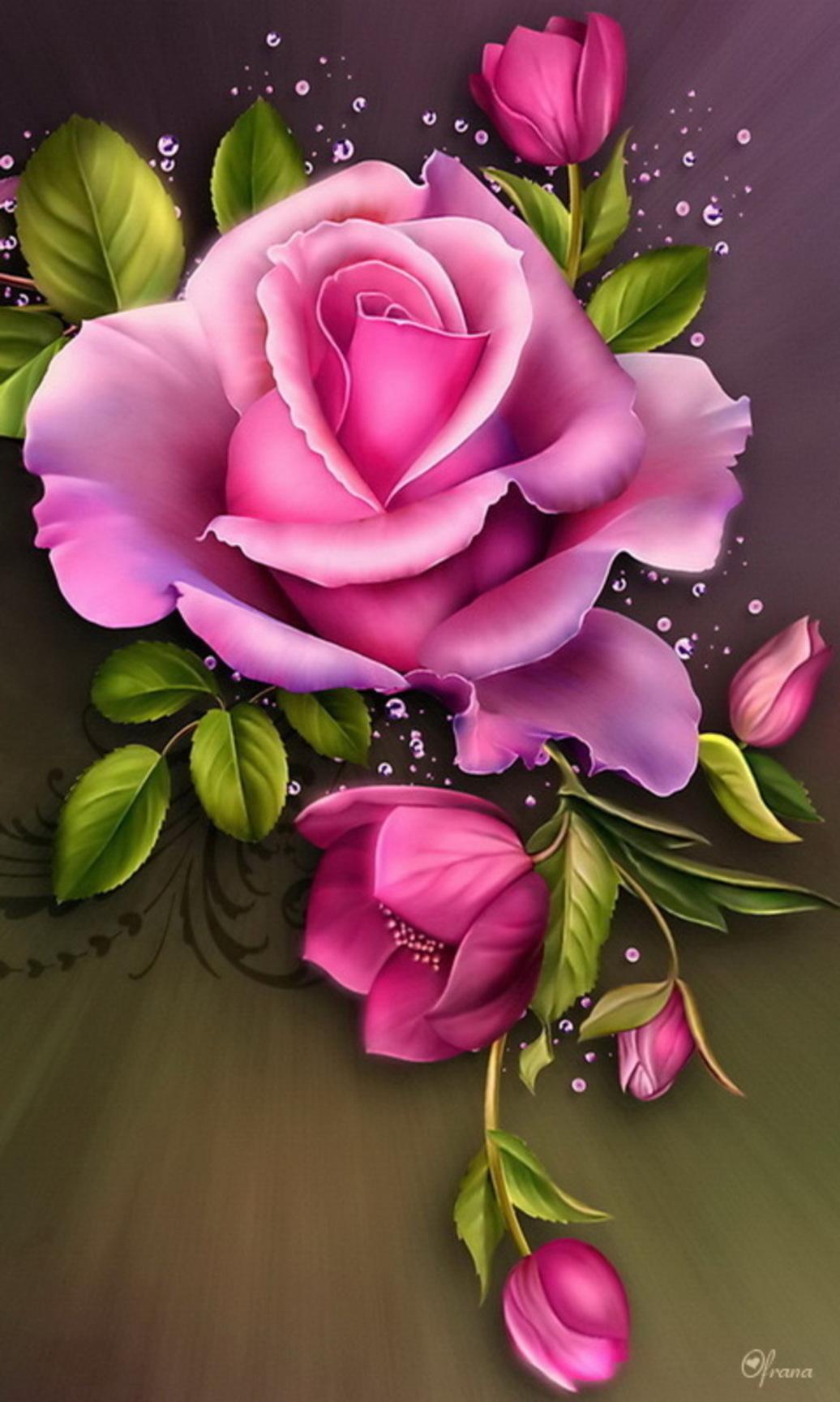 картинки розы на телефон скачать бесплатно