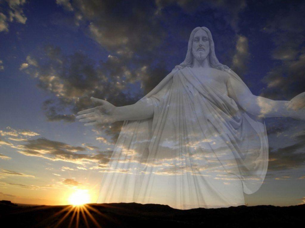 Христос Воскрес! - обои на рабочий стол 1024x768