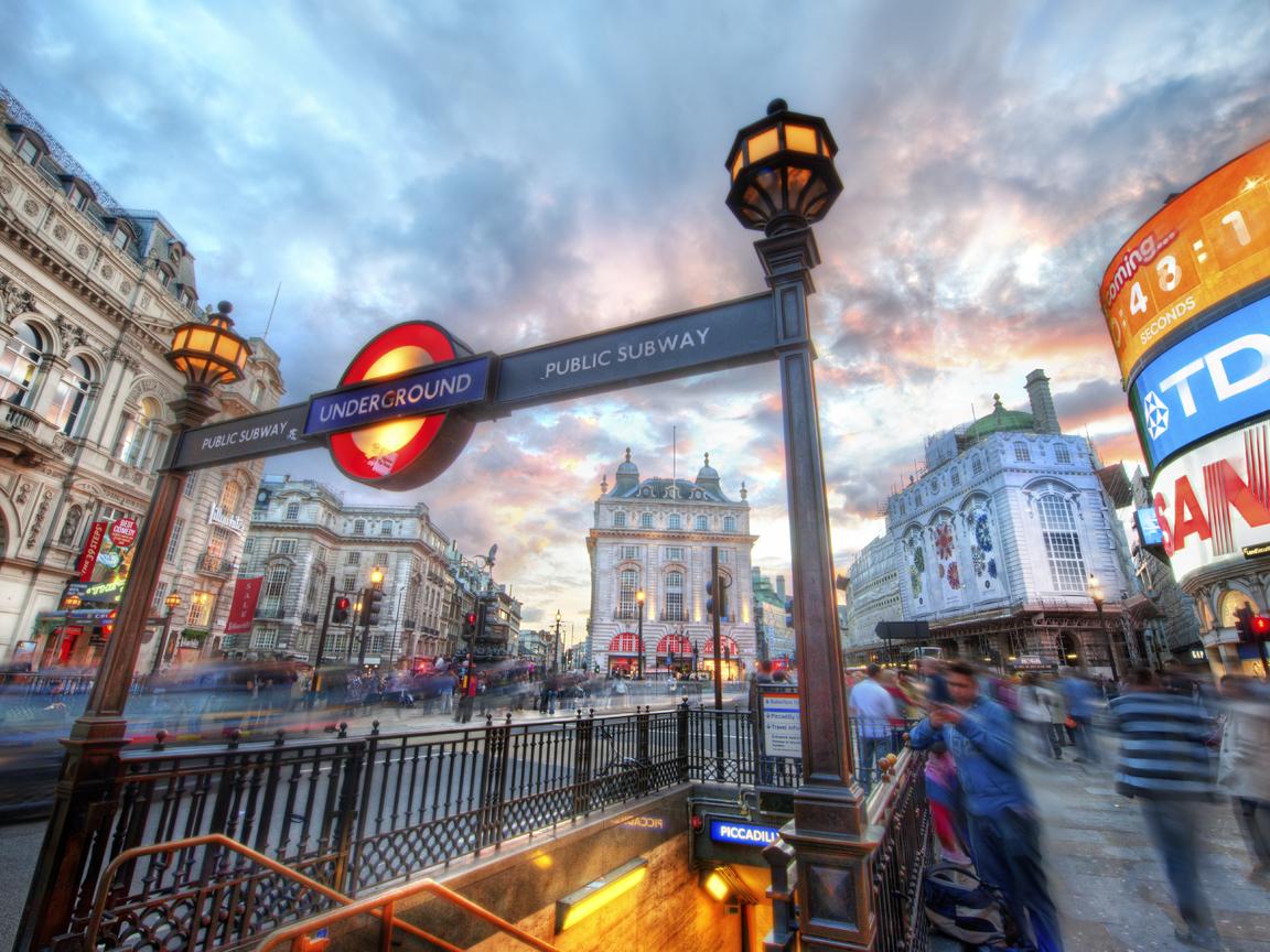 Лондон 1152 x 864