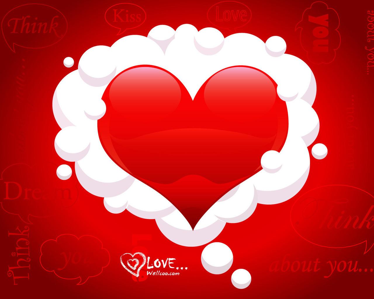 Любовные мысли 1280 x 1024...