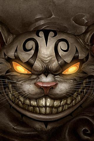 Alice madness returns чеширский кот