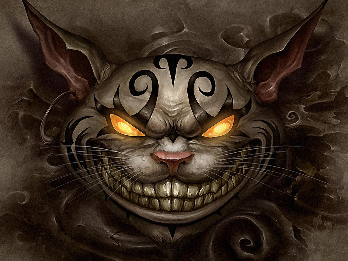 Alice madness returns чеширский кот 1152 x 864