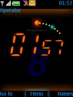 Digital Flash Clock