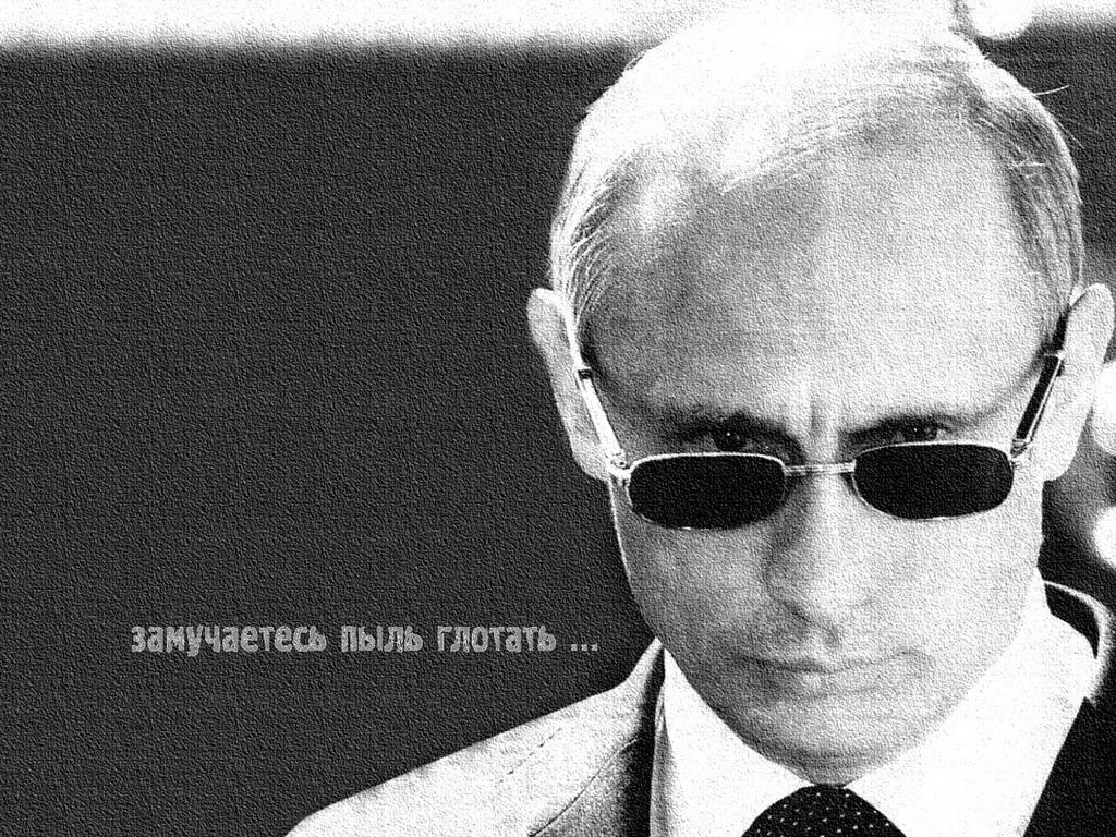 Портрет Путина Владимира Владимировича с высоким