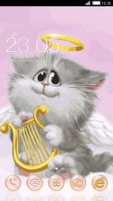 Котик-ангелочек
