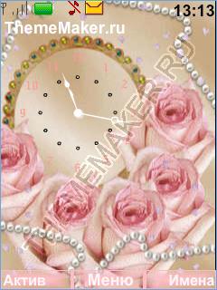 Роза и часы