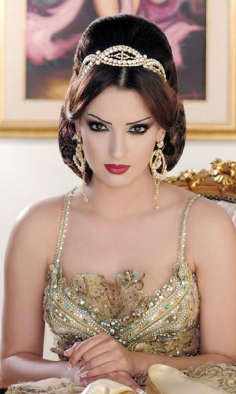 арабские свадебные прически фото