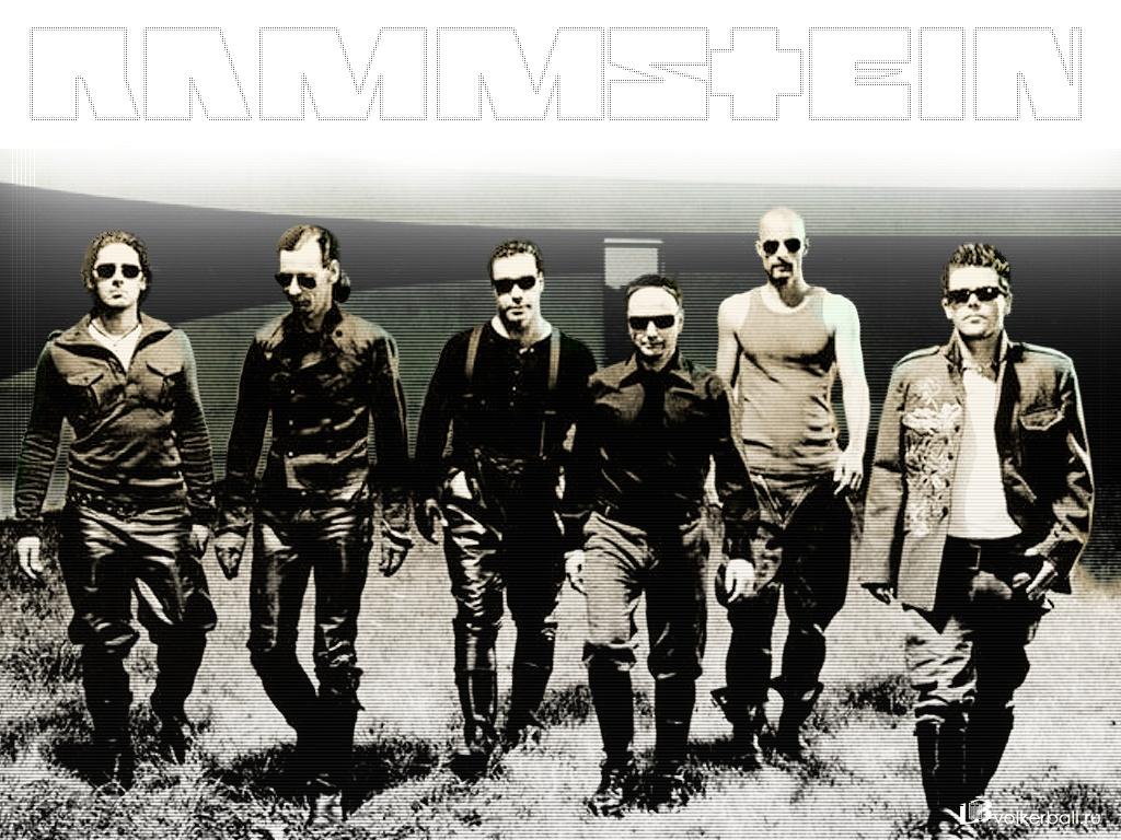 Rammstein - обои на рабочий стол 1024x768