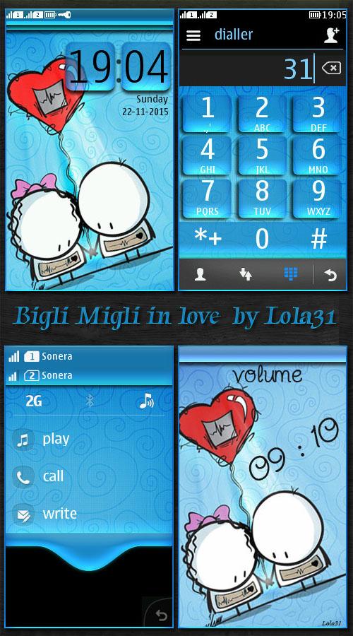 Bigli Migli in love