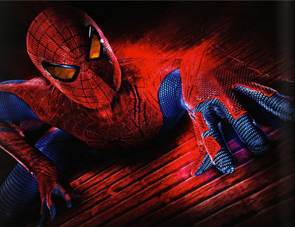 Новый человек паук 968 x 745