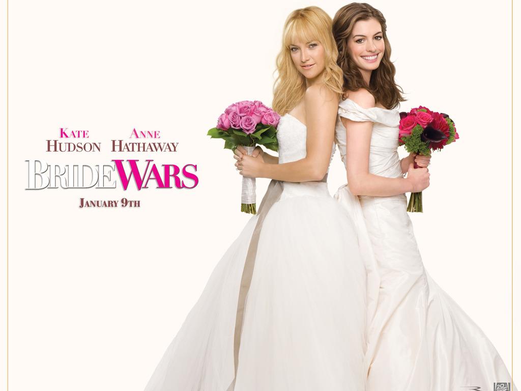 Скачать Война невест, Bride Wars, фильм, кино, обои для рабочего стола