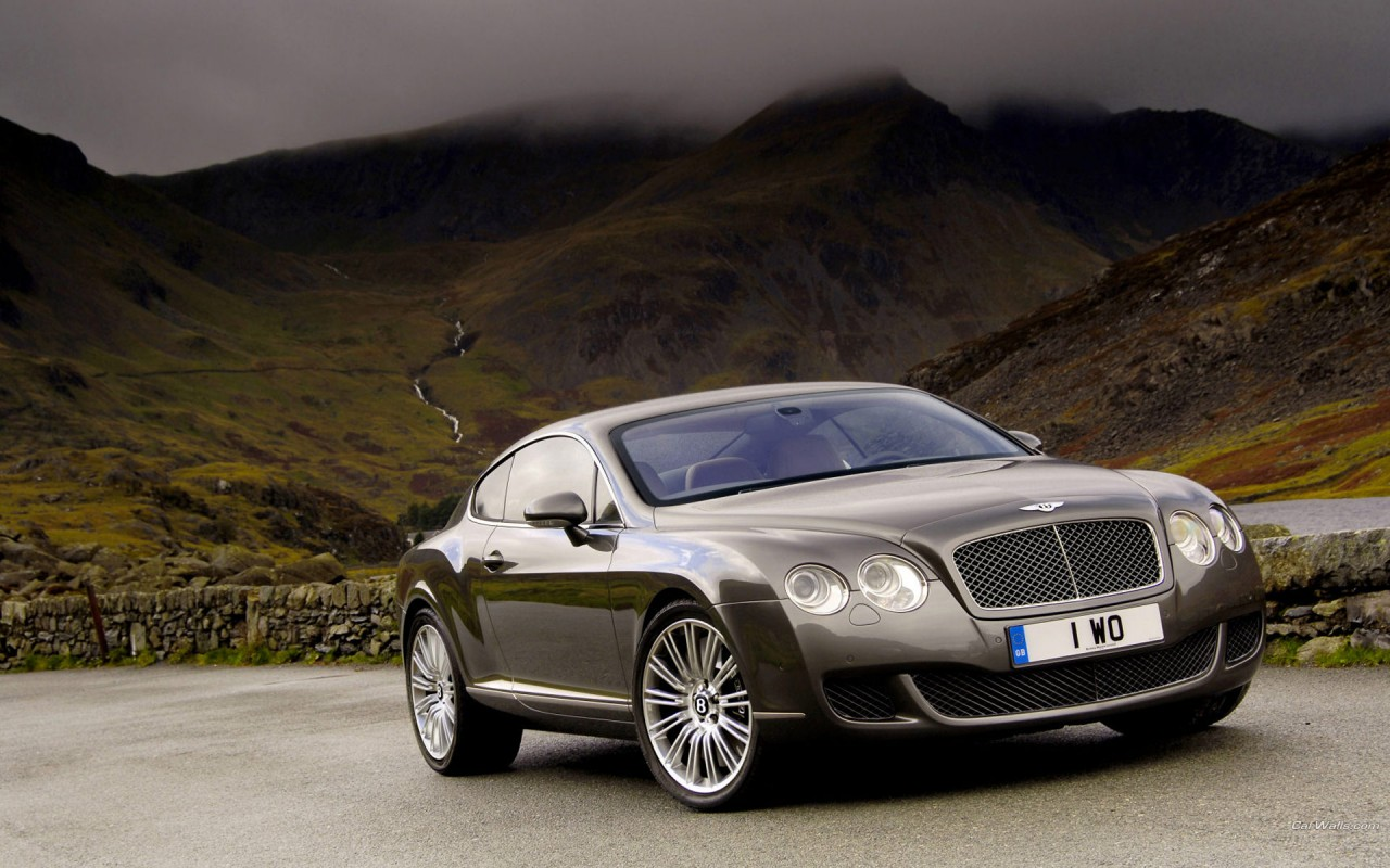 Bentley New Flying Spur.