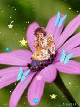 Девочка - анимация на телефон №1044756 Спящий Ангелочек Рисунок