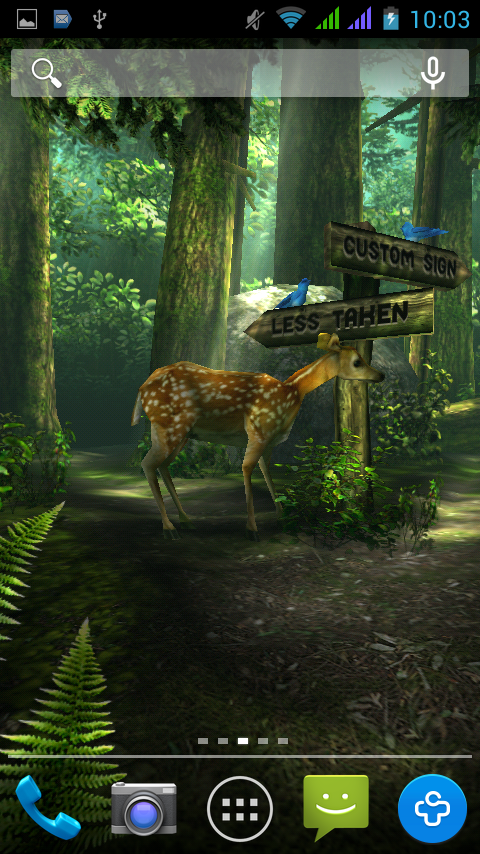 Forest-HD (Живые Обои)