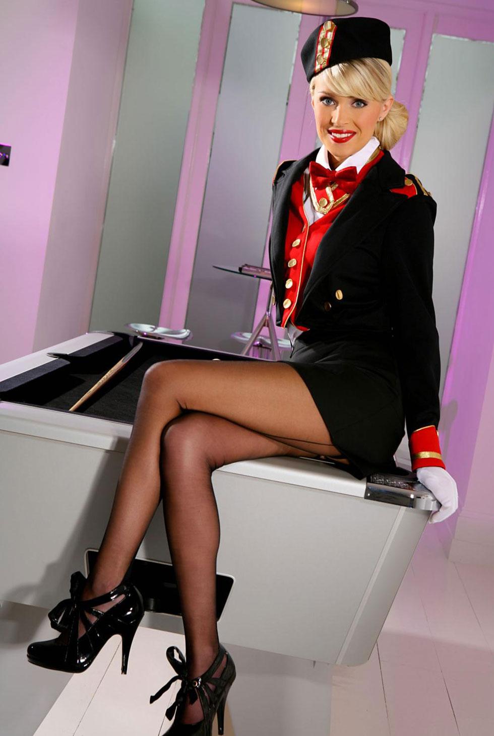 Стюардесса в колготках фото 28 фотография