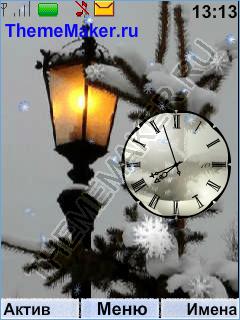 Зимние фонарики