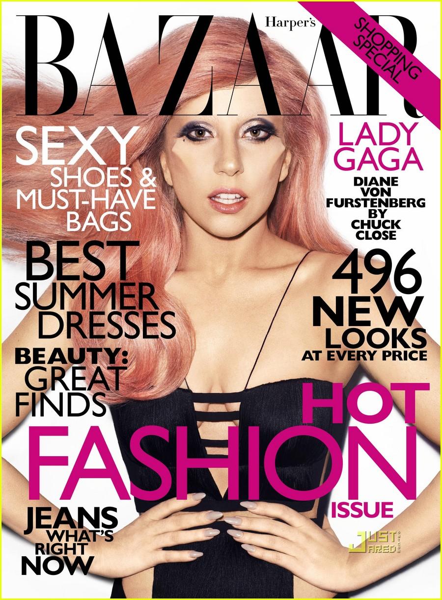 Леди Гага фото с обложки журналов.