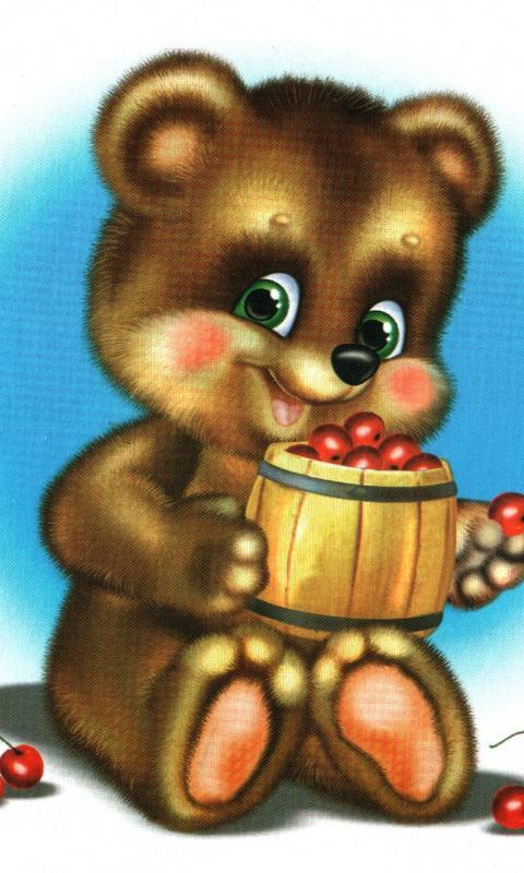 картинка мишки для детей в детском саду