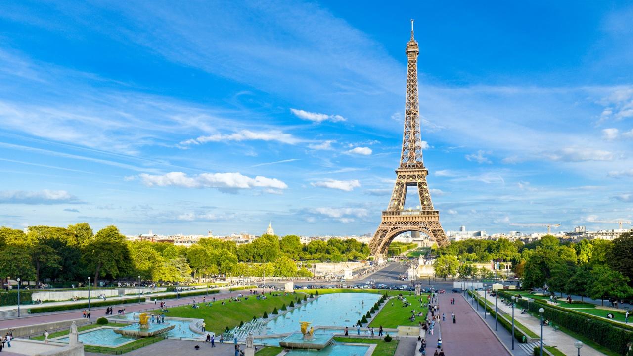 Париж 1280 x 720