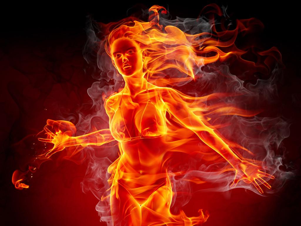 Картинки по запросу девушка и огонь