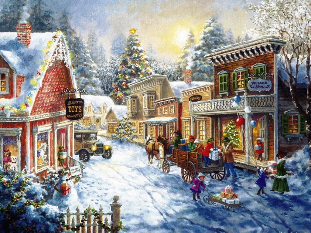 Картинки анимации обои на рабочий стол зима