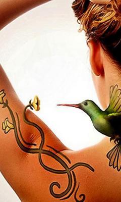 Что такое искусственная Оживающие татуировки