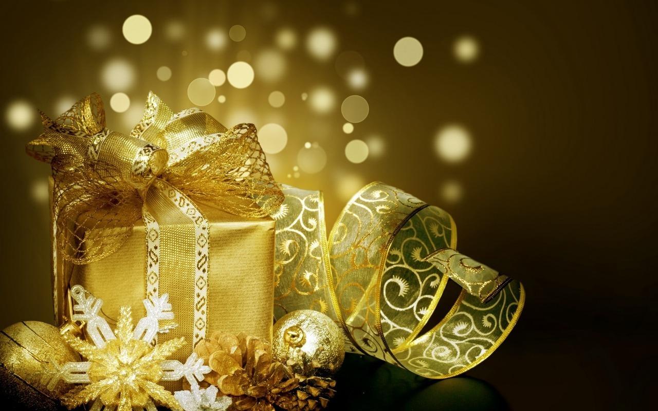 Подарок на новый год 1280 x 800