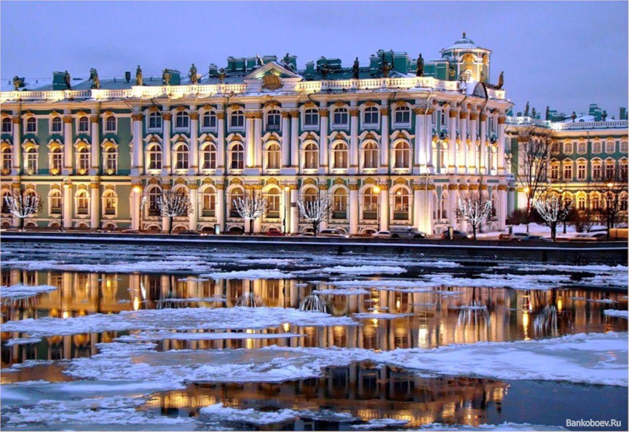 Зимний дворец фото зима 5